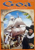 Brettspiele bei AEIOU.DE - Abbildung: Frontcover der Spielbox von Goa
