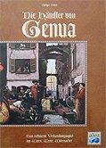 Brettspiele bei AEIOU.DE - Abbildung: Frontcover der Spielbox von Die Händler von Genua