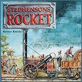 Brettspiele bei AEIOU.DE - Abbildung: Frontcover der Spielbox von Stephensons Rocket