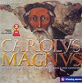 Brettspiele bei AEIOU.DE - Abbildung: Frontcover der Spielbox von Carolus Magnus