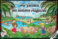 Brettspiele bei AEIOU.DE - Abbildung: Frontcover der Spielbox von Wir füttern die kleinen Nilpferde