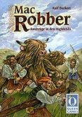 Brettspiele bei AEIOU.DE - Abbildung: Frontcover der Spielbox von Mac Robber