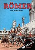 Brettspiele bei AEIOU.DE - Abbildung: Frontcover der Spielbox von Römer