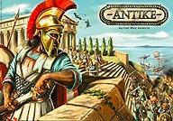 Brettspiele bei AEIOU.DE - Abbildung: Frontcover der Spielbox von Antike