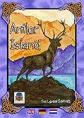 Brettspiele bei AEIOU.DE - Abbildung: Frontcover der Spielbox von Antler Island