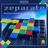 Brettspiele bei AEIOU.DE - Abbildung: Frontcover der Spielbox von Zeparate