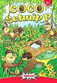 Rezensionen bei AEIOU.DE - Abbildung: Frontcover der Spielbox von COCO Schnipp