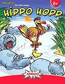 Rezensionen bei AEIOU.DE - Abbildung: Frontcover der Spielbox von Hippo Hopp