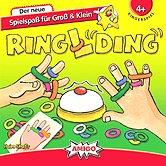 Rezensionen bei AEIOU.DE - Abbildung: Frontcover der Spielbox von RinglDing