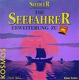 Brettspiele bei AEIOU.DE - Abbildung: Frontcover der Spielbox von Die Seefahrer Erweiterung