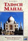 Brettspiele bei AEIOU.DE - Abbildung: Frontcover der Spielbox von Tadsch Mahal