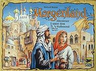 Brettspiele bei AEIOU.DE - Abbildung: Frontcover der Spielbox von Morgenland