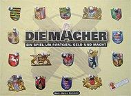 Brettspiele bei AEIOU.DE - Abbildung: Frontcover der Spielbox von Die Macher