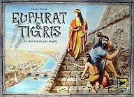 Brettspiele bei AEIOU.DE - Abbildung: Frontcover der Spielbox von Euphrat & Tigris