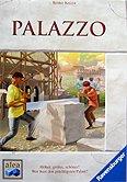 Brettspiele bei AEIOU.DE - Abbildung: Frontcover der Spielbox von Palazzo