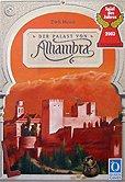 Brettspiele bei AEIOU.DE - Abbildung: Frontcover der Spielbox von Der Palast von Alhambra