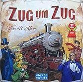 Brettspiele bei AEIOU.DE - Abbildung: Frontcover der Spielbox von Zug um Zug
