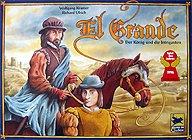 Brettspiele bei AEIOU.DE - Abbildung: Frontcover der Spielbox von El Grande
