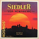 Brettspiele bei AEIOU.DE - Abbildung: Frontcover der Spielbox von Die Siedler von Nürnberg