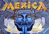 Brettspiele bei AEIOU.DE - Abbildung: Frontcover der Spielbox von Mexica