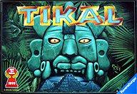 Brettspiele bei AEIOU.DE - Abbildung: Frontcover der Spielbox von Tikal