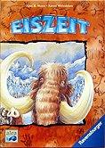 Brettspiele bei AEIOU.DE - Abbildung: Frontcover der Spielbox von Eiszeit