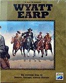 Brettspiele bei AEIOU.DE - Abbildung: Frontcover der Spielbox von Wyatt Earp