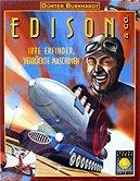 Brettspiele bei AEIOU.DE - Abbildung: Frontcover der Spielbox von Edison & Co.