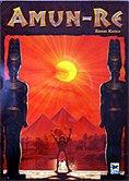 Brettspiele bei AEIOU.DE - Abbildung: Frontcover der Spielbox von Amun-Re