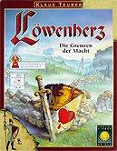 Brettspiele bei AEIOU.DE - Abbildung: Frontcover der Spielbox von Löwenherz