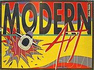 Brettspiele bei AEIOU.DE - Abbildung: Frontcover der Spielbox von Modern Art