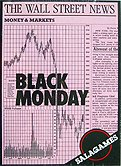 Brettspiele bei AEIOU.DE - Abbildung: Frontcover der Spielbox von Black Monday