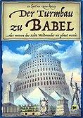 Brettspiele bei AEIOU.DE - Abbildung: Frontcover der Spielbox von Der Turmbau zu Babel