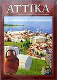 Rezensionen bei AEIOU.DE - Abbildung: Frontcover der Spielbox von Attika
