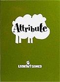 Brettspiele bei AEIOU.DE - Abbildung: Frontcover der Spielbox von Attribute