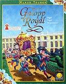 Brettspiele bei AEIOU.DE - Abbildung: Frontcover der Spielbox von Galopp Royal