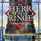 Brettspiele bei AEIOU.DE - Abbildung: Frontcover der Spielbox von Der Herr der Ringe - Die Feinde