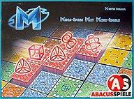 Brettspiele bei AEIOU.DE - Abbildung: Frontcover der Spielbox von M