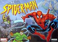 Brettspiele bei AEIOU.DE - Abbildung: Frontcover der Spielbox von Spider-Man