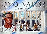 Brettspiele bei AEIOU.DE - Abbildung: Frontcover der Spielbox von Quo Vadis?