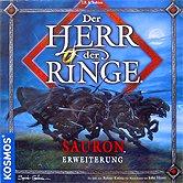 Brettspiele bei AEIOU.DE - Abbildung: Frontcover der Spielbox von Der Herr der Ringe - Sauron