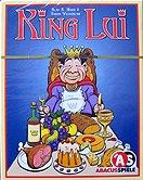 Brettspiele bei AEIOU.DE - Abbildung: Frontcover der Spielbox von King Lui