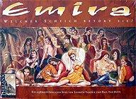 Brettspiele bei AEIOU.DE - Abbildung: Frontcover der Spielbox von Emira
