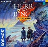 Brettspiele bei AEIOU.DE - Abbildung: Frontcover der Spielbox von Der Herr der Ringe - Die Suche
