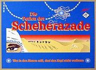 Brettspiele bei AEIOU.DE - Abbildung: Frontcover der Spielbox von Die Perlen der Scheherazade