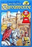 Rezensionen bei AEIOU.DE - Abbildung: Frontcover der Spielbox von Carcassonne