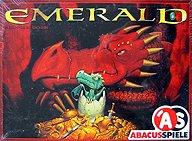 Brettspiele bei AEIOU.DE - Abbildung: Frontcover der Spielbox von Emerald