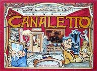 Brettspiele bei AEIOU.DE - Abbildung: Frontcover der Spielbox von Canaletto