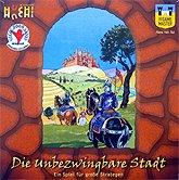 Brettspiele bei AEIOU.DE - Abbildung: Frontcover der Spielbox von Die unbezwingbare Stadt