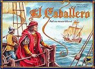 Brettspiele bei AEIOU.DE - Abbildung: Frontcover der Spielbox von El Caballero
